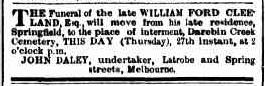 william-ford-cleeland-funeral-notice-argus-27aug1868